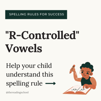 Understanding the R-Controlled Vowels Rule for Spelling & Reading
